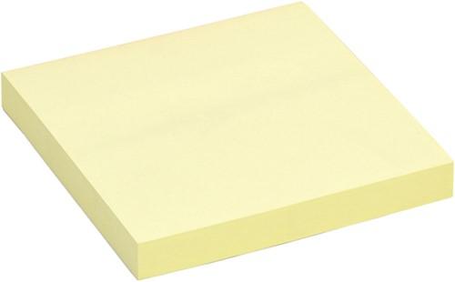 Memoblok Quantore 75x75mm geel