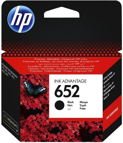 Inktcartridge F6V25AE 652 zwart