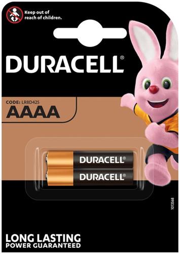 Batterij Duracell 2xAAAA Ultra alkaline