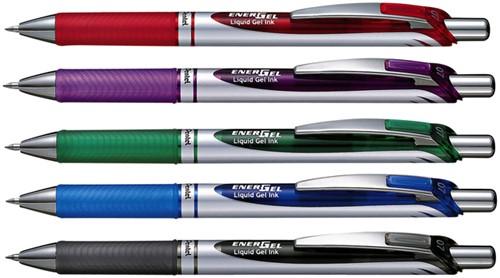 Gelschrijver Pentel Energel BL77 blauw 0.4mm-2