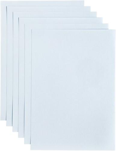 Kopieerpapier Papicolor A4 100gr 12 vel babyblauw