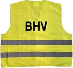 Veiligheidsvest BHV geel
