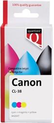 Inkcartridge Quantore Canon CL-38 kleur