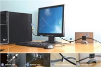 Beveiligingsset Kensington desktop + pc microsaver zwart-2