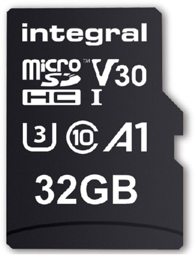 Geheugenkaart Integral microSDHC V30 32GB