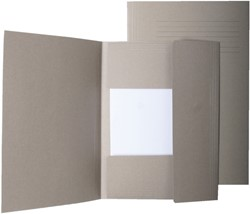 Dossiermap Quantore A4 grijs