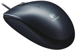 Muis Logitech M100 optical zwart