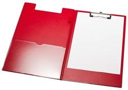 Klemmap LPC A4/Folio met 100mm klem +penlus rood