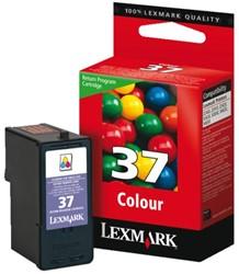 Inkcartridge Lexmark 18C2140E 37 prebate kleur