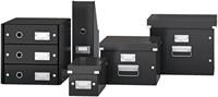 Dvd Box Leitz Click & Store 190x135x320mm zwart-3