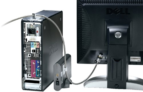 Beveiligingsset Kensington desktop + pc microsaver zwart-3