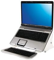 Laptopstandaard Quantore verstelbaar transparant-2