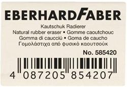 Gum Eberhard faber EF-585420 potloodgum wit