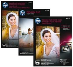 Inkjetpapier HP CR676A 13x18cm photo glossy 300gr 20vel