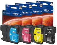 Inkcartridge Brother LC-1100HYBK zwart HC-2