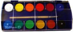 Waterverfdoos Pelikan 721324 12 kleuren assorti