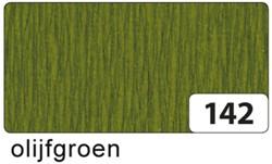 Crepepapier Folia 250x50cm nr142 olijfgroen