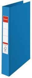 Ringband Esselte Vivida A4 2-rings O-mech 25mm PP blauw