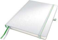 Notitieboek Leitz Complete hardcover A6 gelinieerd wit