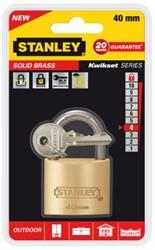 Hangslot Stanley messing 40mm