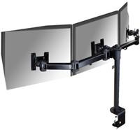 """monitorarm Newstar D960D3 3x10-21"""" met klem zwart"""