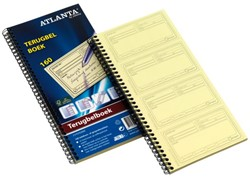 Terugbelboek Atlanta 74x128mm 160 notities 40vel
