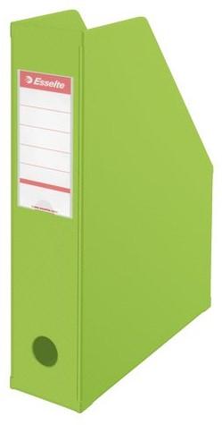 Tijdschriftcassette Esselte Vivida opvouwbaar groen