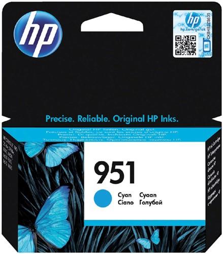 Inktcartridge HP CN050AE 951 blauw