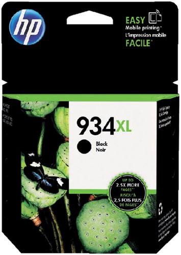 Inktcartridge HP C2P23AE 934XL zwart HC