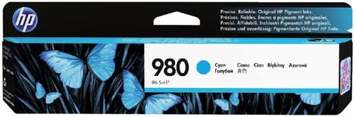 Inktcartridge HP D8J07A 980A blauw