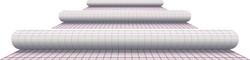 Kaftplastic Boeklon 33cmx5m zelfklevend  transparant