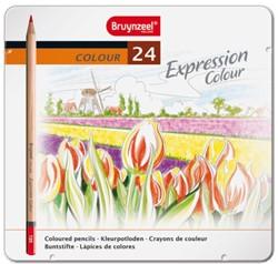Kleurpotloden Bruynzeel Expression 7705 ass  blik à 24 stuks