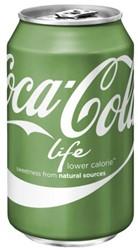 Frisdrank Coca Cola Life blikje 0.33l