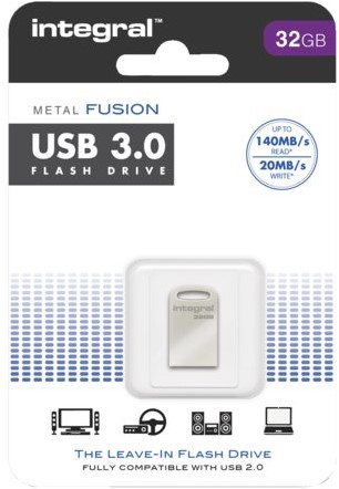 USB-Stick 3.0 Integral FD Metal Fusion 32GB