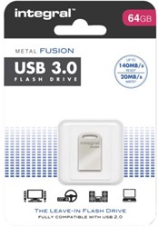 USB-Stick 3.0 Integral FD Metal Fusion 64GB