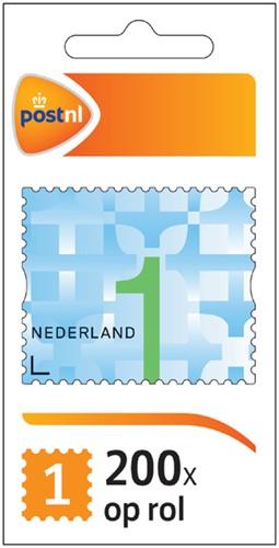Postzegel NL waarde 1 zelfklevend 200 stuks