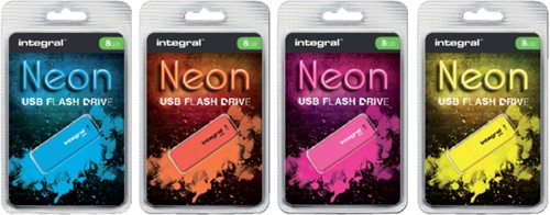 USB-stick 2.0 Integral 32GB neon oranje-2