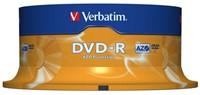 DVD-R Verbatim 4,7GB 16X spindel 25stuks