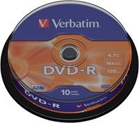 DVD-R Verbatim 4,7GB 16X spindel 10stuks-3