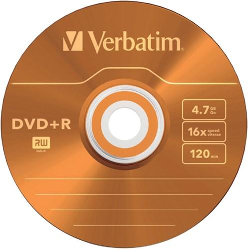 DVD-R Verbatim 4,7GB 16X Colour 5stuks-2