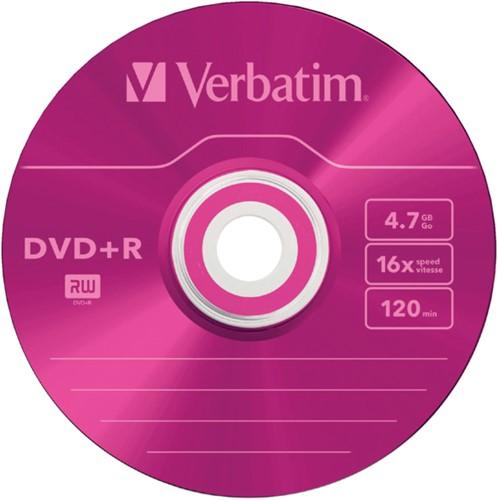 DVD-R Verbatim 4,7GB 16X Colour 5stuks-3