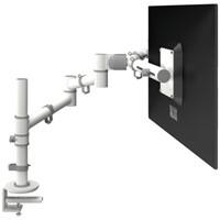 monitorarm Dataflex Viewgo 130 met bureauklem wit-1
