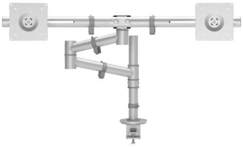 Monitorarm Dataflex Viewgo 132 met bureauklem grijs-2