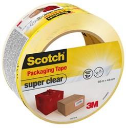 Verpakkingstape Scotch super clear 48mmx66m
