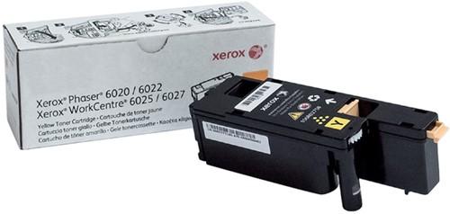 Tonercartridge Xerox 106R02758 geel