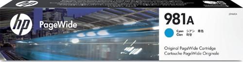 Inktcartridge HP J3M68A 981A blauw