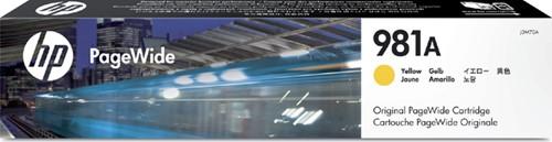 Inktcartridge HP J3M70A 981A geel