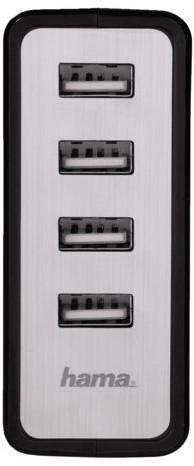 Oplader Hama USB Auto-Detect met 4 poorten-1