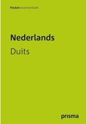 Woordenboek Prisma pocket Nederlands-Duits fluo