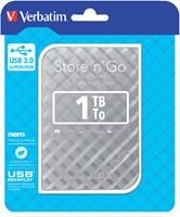 Harddisk Verbatim Store'n'go 1TB USB 3.0 zilver-2